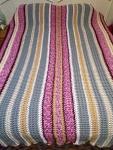 Waffle Stitch Crochet Blanket