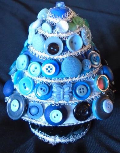 Blue Yule Tree